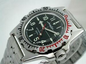腕時計, 男女兼用腕時計  russian vostok 2415auto amphibian diver watch11647russian vostok 2415 auto amphibian diver watch 11647