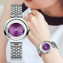 【送料無料】 腕時計 アイソポスクオーツミームladiaesop fashion women watch thin strap quartz mme purple simple ladi