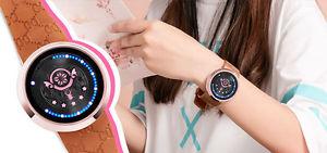 腕時計, 男女兼用腕時計  cardcaptor kinomoto sakura star wand key led touch screen waterproof wrist watch