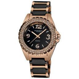 【送料無料】 腕時計 ベゼルブラックセラミックブレスレット