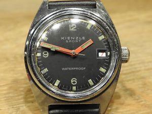 腕時計, 男女兼用腕時計  kienzle60ergerman vintage watchkienzle sport 60er yearsgerman vintage watch