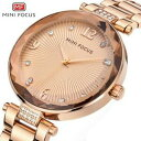 【送料無料】 腕時計 ブランドクリスタルクォーツクリスマスluxury brand crystal gold watch quartz xmas gifts for her wife girl female women