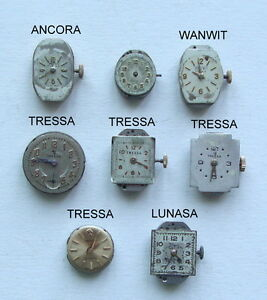 腕時計, 男女兼用腕時計  tressa lot 8 woman wristwatch movement no running still wanwit lunasa