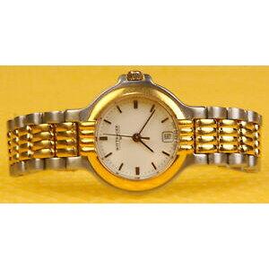 【الشحن مجاني Watches الساعات السويسرية النسائية wittnauer بواسطة longines jv251 كوارتز ساعة سويسرية * جيدة جدا مستعملة *