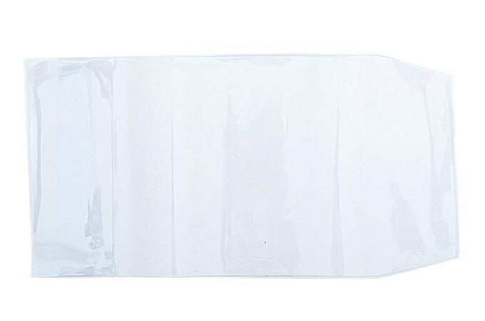 御朱印帳カバー (12cm×18cm用) 高透明度クリアタイプ 透明ビニールカバー(L)5枚セット