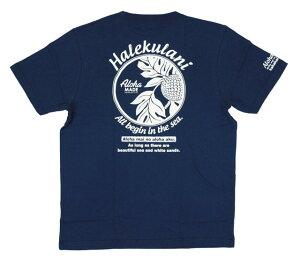 SALE ハワイアン雑貨 ハワイアン 雑貨 ALOHA MADE アロハメイド メンズ 半袖 Tシャツ (メンズ/B.ネイビー) 202MA1ST051NVY フララニ メール便対応可 サーフブランド ハワイアン 雑貨 ハワイ ハワイアン