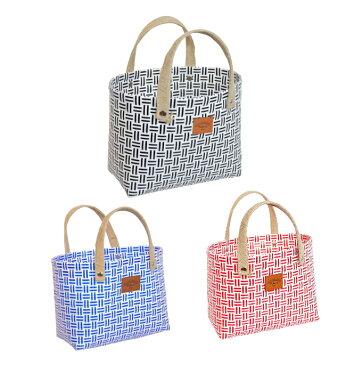 【在庫処分セール】プラカゴ バッグ お買い物カゴ トートバッグ ランチトートバッグ