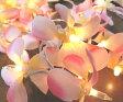 ハワイアン 雑貨 インテリア/ハワイアン雑貨 プルメリアガーランドランプ☆ ♪(ピンク)ハワイ お土産 ハワイアン インテリア 家具 照明【あす楽対応】【ポイント10倍】10P03Dec16