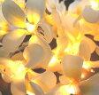 ハワイアン雑貨 インテリア雑貨 ハワイアン 雑貨 プルメリアガーランドランプ☆ ♪(イエロー) ハワイ お土産/ハワイアン雑貨 照明【ハワイアン 雑貨】ハワイ お土産 ハワイアン インテリア 家具 【あす楽対応】【ポイント10倍】10P03Dec16