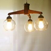 ペンダントライト 照明【GLASS BOLL3−宙吹き−】LED付属 天井照明 インテリア照明 照明器具 3灯タイプ おしゃれ お洒落 かわいい ガラス|2点購入で送料無料|店舗照明・リノベーション照明・リフォーム照明