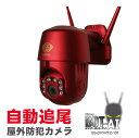 【TV紹介】防犯カメラ 自動追尾 屋外 工事不要 簡単設置 家庭用 監視カメラ