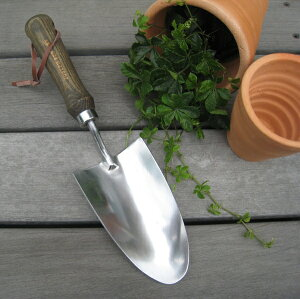 【英国製/Joseph Bentley】ステンレス ハンドスコップ゜【ガーデンツール・ガーデニング・園芸・移植スコップ】【RCP】