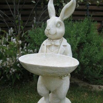 ★実店舗でも大人気★タキシードを着たウサギは不思議の国のアリスみたい♪【送料無料】スタン...