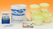 ホームメイド・ケフィアのガラス容器発酵セット