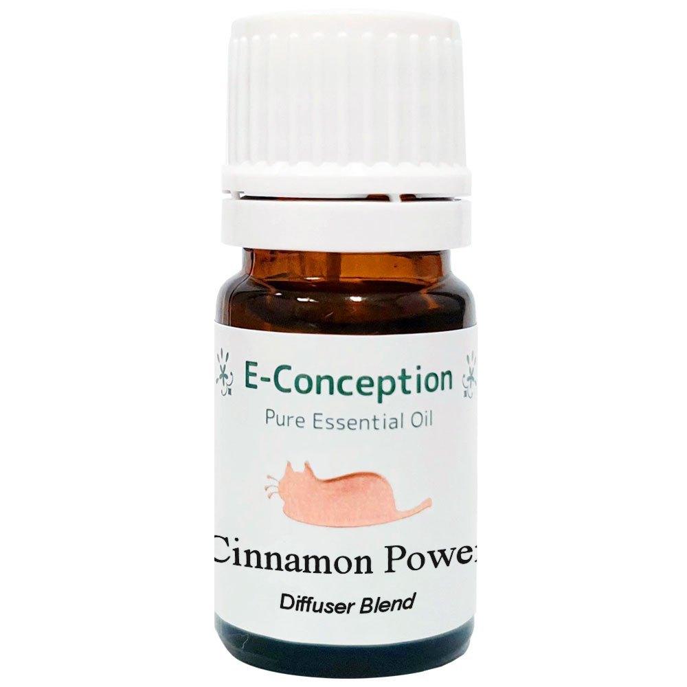 シナモンパワー(免疫促進)ブレンドアロマオイル 5ml 【制菌】【アロマセラピー】【E-conception】【芳香浴】【マスク】画像