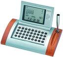 【在庫あり】ADESSO(アデッソ)AQ-262(置き時計 ワールドカレンダー 電卓 )