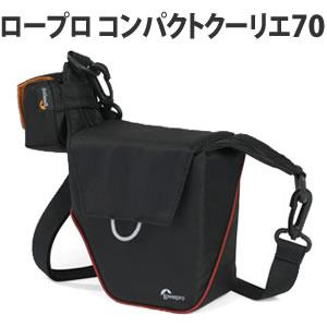 Lowepro (ロープロ) コンパクトクーリエ70 ブラック ミラーレス用カメラバッグ