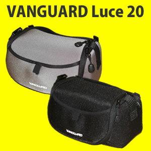 バンガード Luce 20 カメラ用ショルダーバッグ 【カラー選択式:ブラック/シルバー】