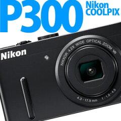 【エントリー利用でポイント最大3倍】【納期2週間程度】Nikon デジカメ COOLPIX P300 BK ブラック