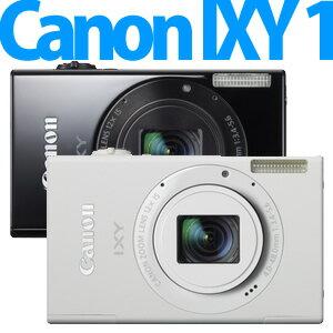 【延長保証可】【3月上旬発売以降発送予定】Canon(キャノン) デジカメ IXY 1 [ホワイト/ブラック]