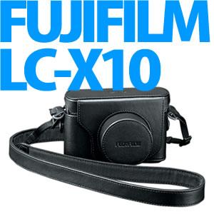 【10/22発売以降発送】【送料/525円】富士フィルム カメラケース LC-X10 【FinePix X10用】