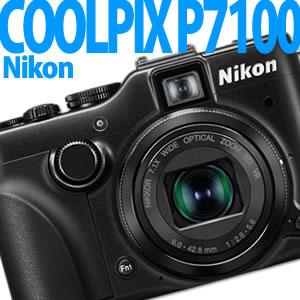 【9/22発売以降発送】Nikon デジカメ COOLPIX P7100 BK ブラック