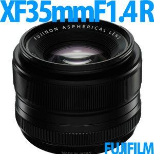 【2/18発売以降発送予定】 フジフィルム XF35mmF1.4 R [フジノンレンズ]