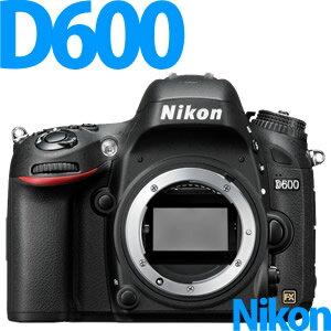 【延長保証可】【在庫あり】Nikon デジタル一眼レフカメラ D600 ボディ