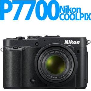 【延長保証可】Nikon デジカメ COOLPIX P7700 BK