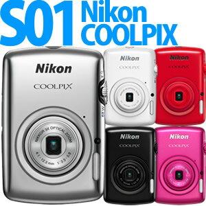 【延長保証可】Nikon デジカメ COOLPIX S01 【カラー選択式】