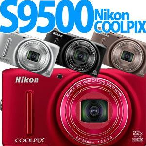 【延長保証可】Nikon デジカメ COOLPIX S9500 【カラー選択式】