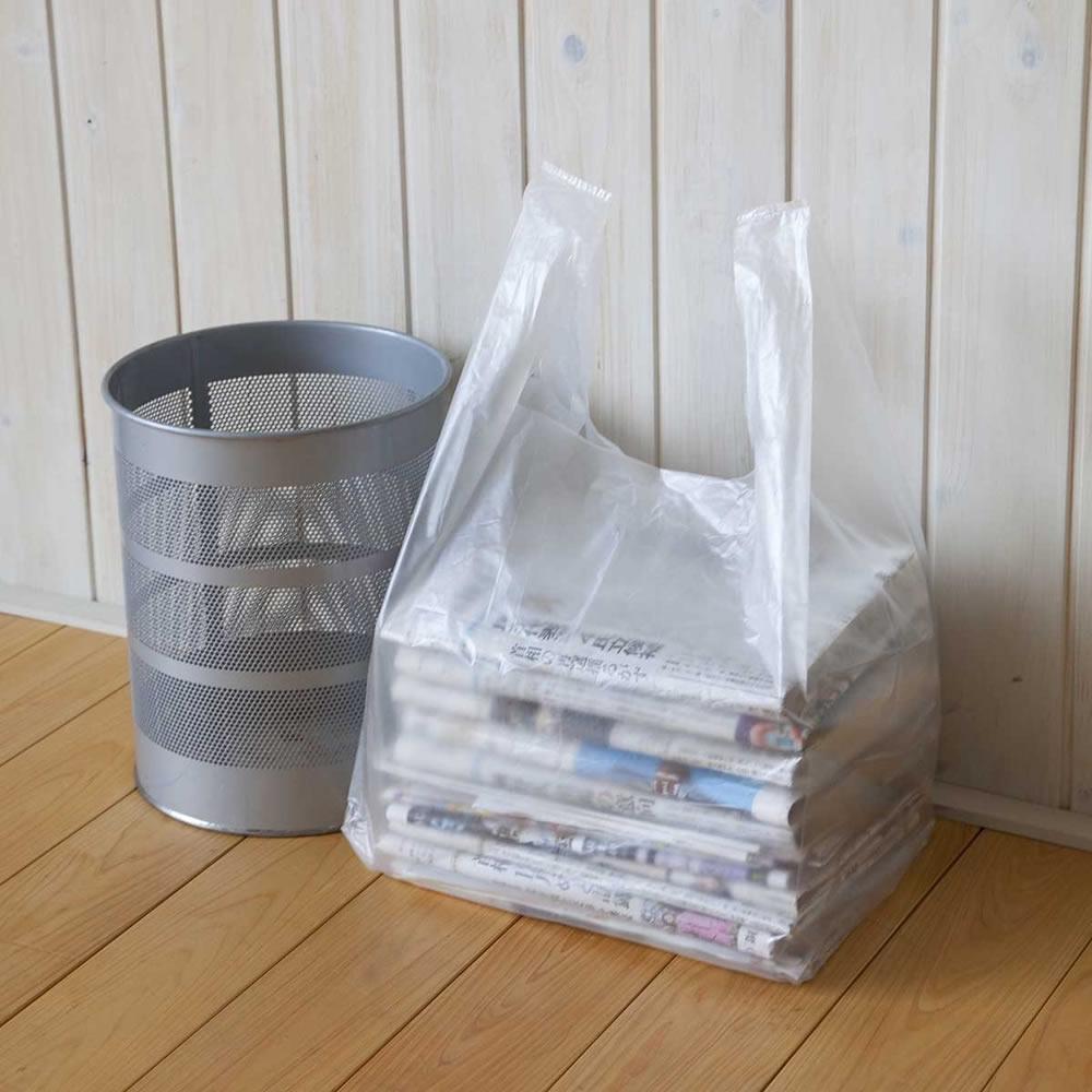 昭プラ株式会社 【整理袋】 新聞雑誌整理袋 200枚組 [50枚パック×4セット]【ラッピング不可】