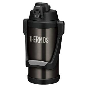 THERMOS サーモス 真空断熱スポーツジャグ FFV-2000(BKGY)ブラックグレー(2.0L/2000ml)(スポーツドリンク OK)(保冷専用水筒)