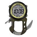 (正規品)DAKOTA(ダコタ) 3099-0 時計 クリップウォッチ デジクリップ モスグリーン アウトドア