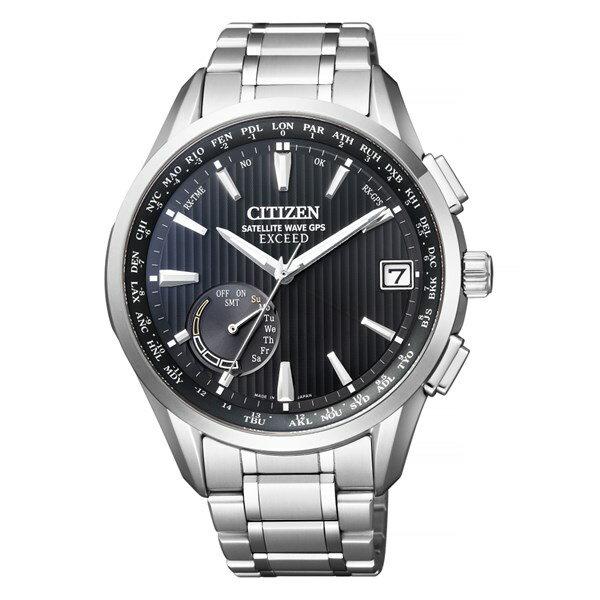 (時計ケースセット)(国内正規品)(シチズン)CITIZEN 腕時計 CC3050-56F (エクシード)EXCEED メンズ エコドライブ GPS衛星電波時計(チタンバンド GPS電波ソーラー 多針アナログ)