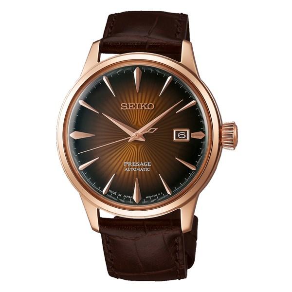 (時計ケースセット)(国内正規品)(セイコー)SEIKO 腕時計 SARY128 (プレザージュ)PRESAGE メンズ ベーシックライン(牛革バンド 自動巻き(手巻付) アナログ)