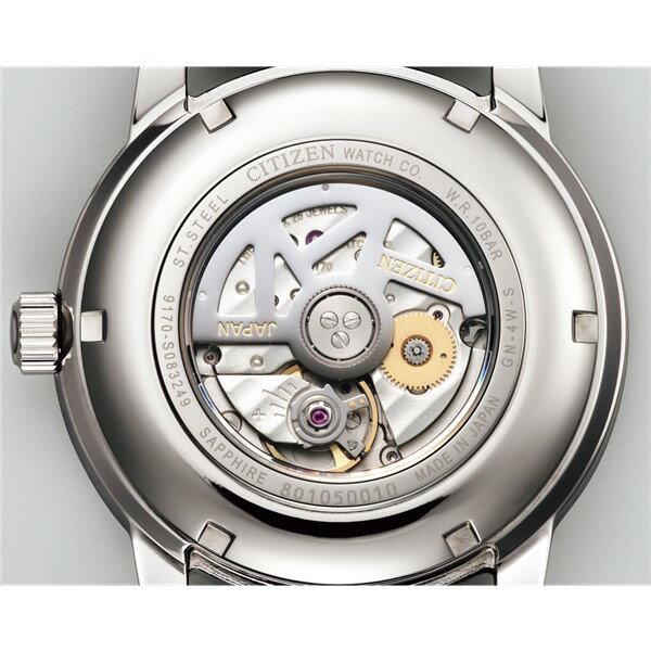 (時計ケースセット)(国内正規品)(シチズン)CITIZEN 腕時計 NB2000-19A シチズンコレクション メンズ メカニカル マルチハンズ(ワニ革バンド 自動巻き(手巻付) 多針アナログ)