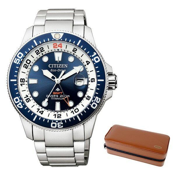 腕時計, メンズ腕時計 ()CITIZEN BJ7111-86L ()PROMASTER MARINE GMT