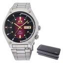 (時計ケースセット)(国内正規品)(オリエント)ORIENT 腕時計 RN-AA0B02R (スポーツ)SPORTS メンズ SK復刻(ステンレスバンド 自動巻(手巻き付) アナログ)