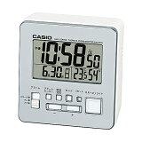 [カシオ]CASIO【置時計/クロック】DQD-805J-8JF デジタル表示 電波受信機能付き 温度・湿度計付き シルバー [DQD805J8JF]
