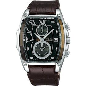 【国内正規品】【腕時計】AGAV039WIRED[ワイアード]リフレクショントノー型【REFLECTIONリフレクションクロノグラフ】【メンズ】【き手数料・送料無料】【メール便】