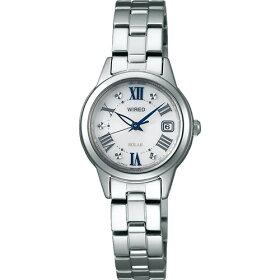 【国内正規品】【腕時計】AGED078WIREDf[ワイアードエフ]【ソーラーステンレスバンドアナログレディース】