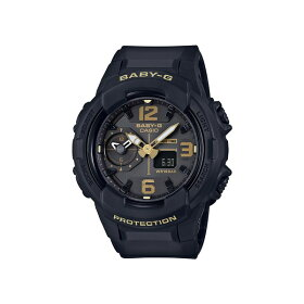 【国内正規品】CASIO(カシオ)【腕時計】BGA-230-1BJFBABY-G[ベビーG][BGA2301BJF]【クオーツ樹脂バンドアナデジレディース】【ブラック】【メール便】