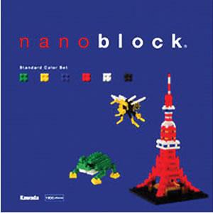 【在庫あり】nanoblock(ナノブロック)NB-001 スタンダードカラーセット(4972825134481)【ダイヤ...