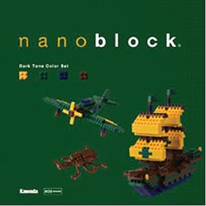 【在庫あり】nanoblock(ナノブロック)NB-003 ダークトーンカラーセット(4972825134504)【ダイヤ...