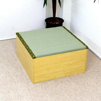 人気の高床式ユニット畳1畳タイプ4本セット☆畳ユニット/畳収納/畳ボックス/☆新品【日本製】激安