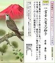 掛け軸-一富士二鷹三茄子/井原蒼竹(尺五・桐箱・風鎮付き)
