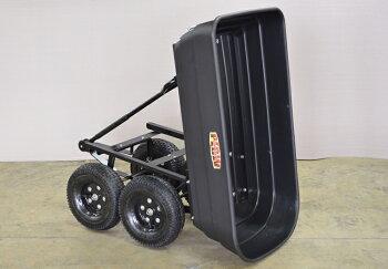 PLOW運搬用ダンプカートM【PH-DUMP-CART-M】【肥料・薪の運搬】【移動カート】【移動ワゴン】【台車】【ダンプ】【リアカー】【運搬車】