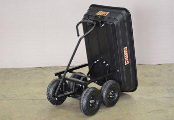 PLOW運搬用ダンプカートS【PH-DUMP-CART-S】【肥料・薪の運搬】【移動カート】【移動ワゴン】【台車】【ダンプ】【リアカー】【運搬車】