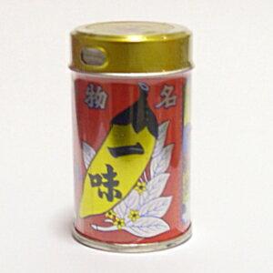 長野名産品 信州善光寺 八幡屋礒五郎 一味唐辛子 12g缶入 (ネコポス不可)